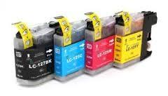 .Brother LC-125z /LC-127 Voordeelset (4 Compatible cartridges)