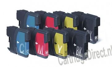 .Brother LC-985 Voordeelset  (8 compatible cartridges)