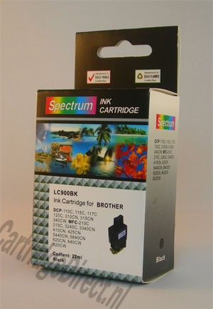 .Brother LC-900BK Zwart (compatible)