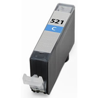 .Canon CLI-521C cyan (compatible MET CHIP)