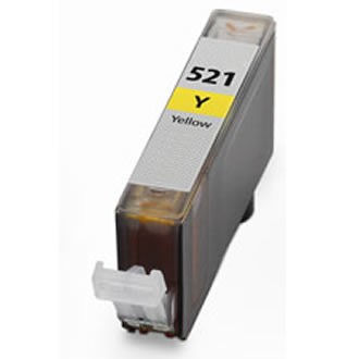 .Canon CLI-521Y yellow (compatible MET CHIP)