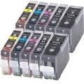 . Canon CLI-8 en PGI-5 voordeelset (10 cartridges) MET CHIP!