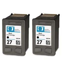Hp 27 (C8727A) 2 cartridges. inhoud 2 x 20 ml
