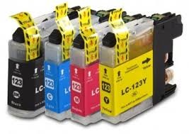 .Brother LC-123z Voordeelset van 4 compatible cartridges