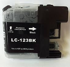 .Brother LC-123BK Zwart (compatible)