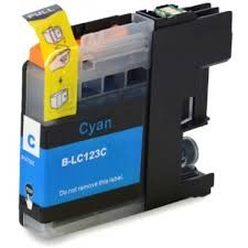 .Brother LC-123C Cyan (compatible)