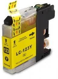 .Brother LC-123Y Yellow (compatible)