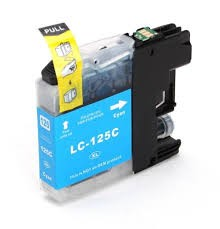 .Brother LC-125 Cyan (compatible)