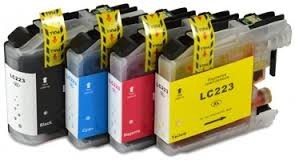 .Brother LC-223z voordeelset 4 cartridges (compatible)