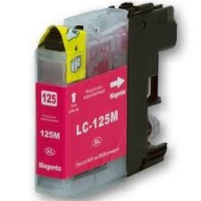 .Brother LC-125M Magenta (compatible)