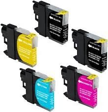 .Brother LC-223zz Set van 5 cartridges (compatible)