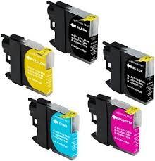 .Brother LC-223zz Set van 5 cartridges (compatible)