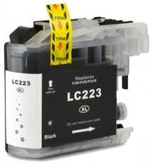 .Brother LC-223Bk zwart (compatible)