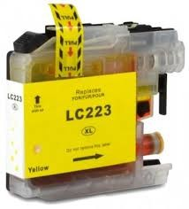 .Brother LC-223Y Geel (compatible)
