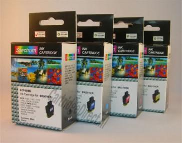 .Brother LC-900YZ Voordeelset (4 compatible cartridges)