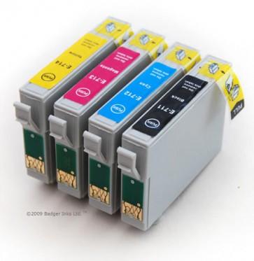 .Epson T0711-T0714 (4 compatible cartridges)