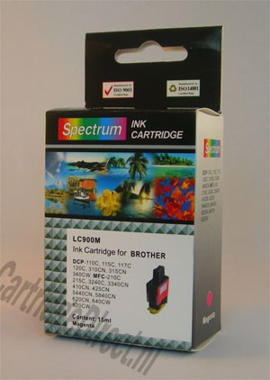 .Brother LC-900M Magenta (compatible)