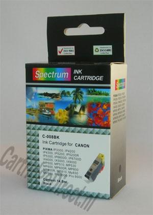 . Canon CLI-8bk (compatible) MET chip