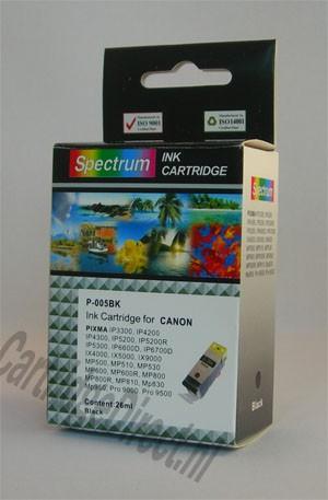 . Canon PGI-5bk zwart (compatible) MET CHIP