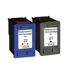 HP 21 en 22 Voordeelset (Compatible)