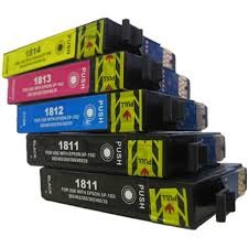 ,Epson Voordeelset (T1811-T1814) 5 cartridges compatible