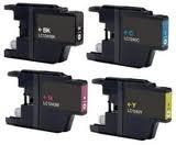 Brother LC-1240Z voordeelset (4 compatible cartridges)