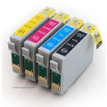 .Epson T0711-T0714 (4 compatible cartridges)