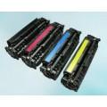 HP CC534A Tonerset (Zwart en drie kleuren)