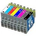 Epson T0540 - T0549 complete set voor de R800 (compatible)