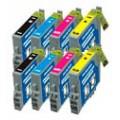 Epson T0611 t/m T0614 twee complete sets
